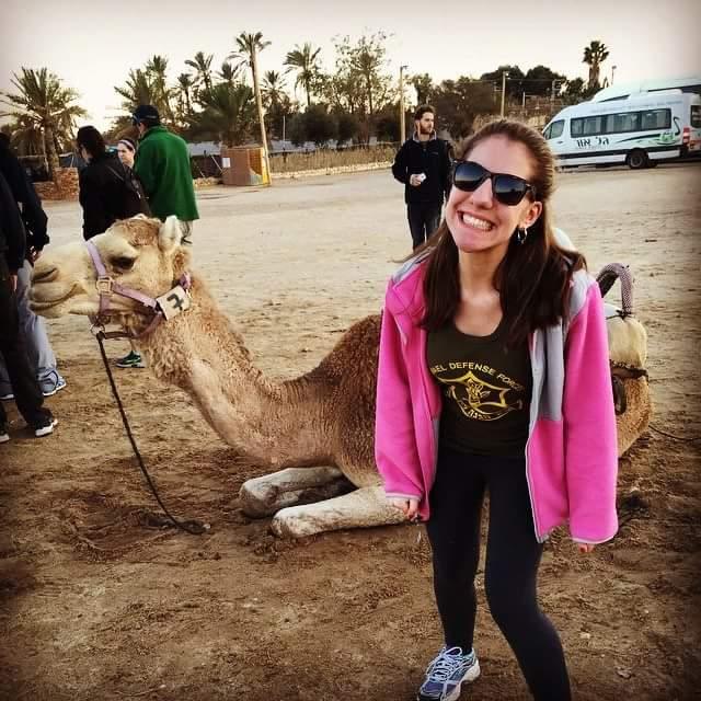 Sarah Krieger in Israel