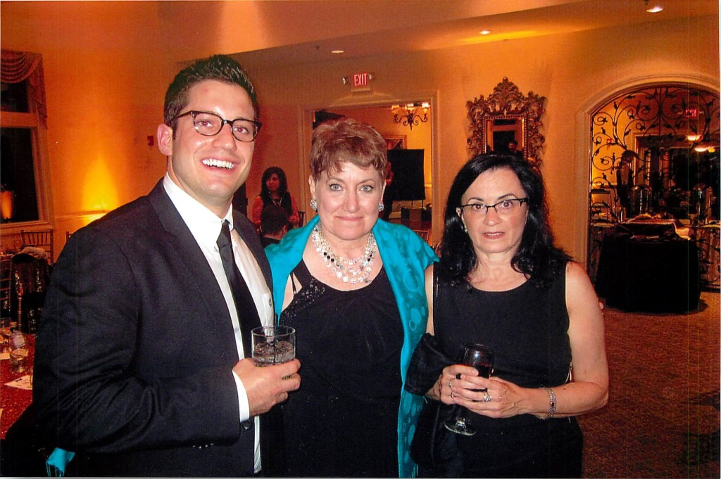 Evan Monahan, Stephanie Shirley, Lisa Cavallaro