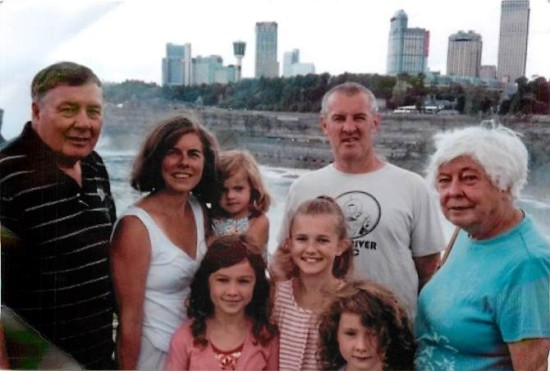 Parisi Family at Niagara Falls