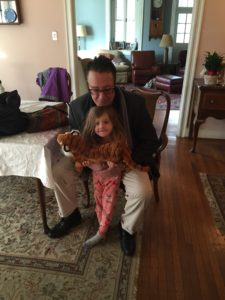 Mabel (aka Maple) Parisi with her Cousin Frank